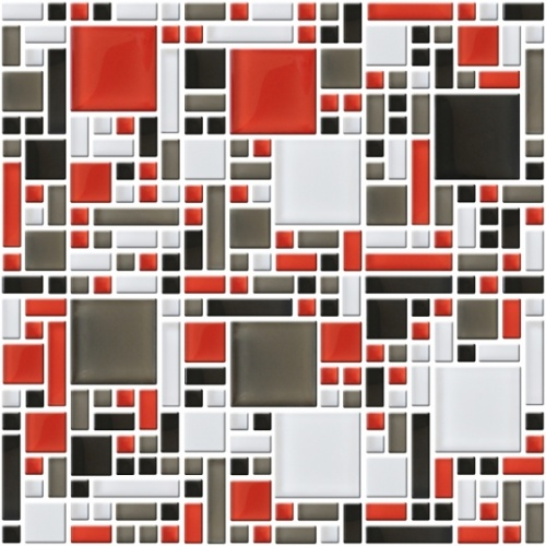 Настенная мозаика 8 mm,  A-MGL08-XX-001