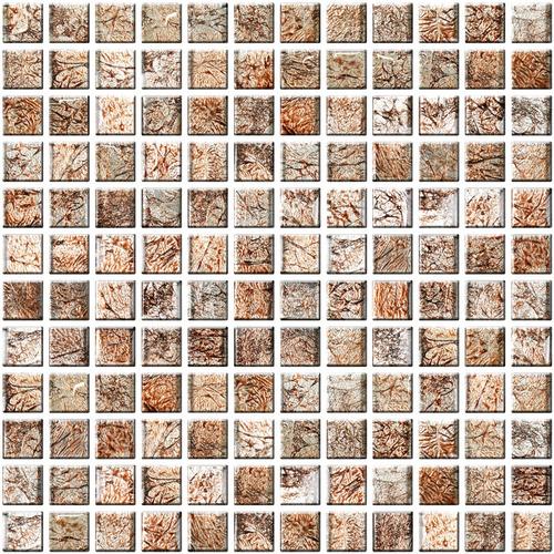 Настенная мозаика 8 mm, A-MGL08-XX-031