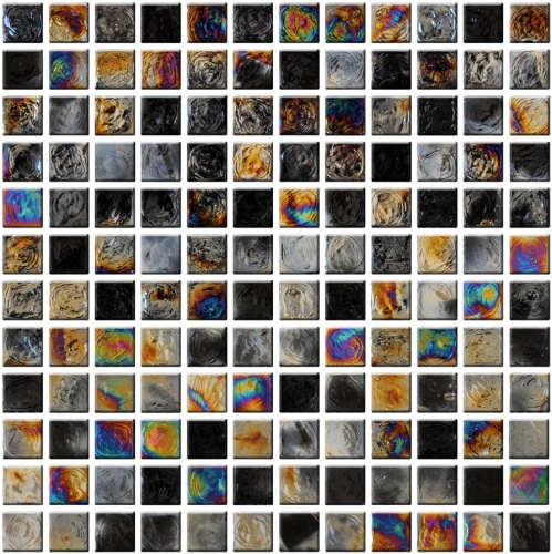 Настенная мозаика 8 mm, A-MGL08-XX-062