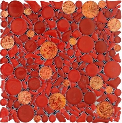 Настенная мозаика 8 mm, A-MGL08-XX-064