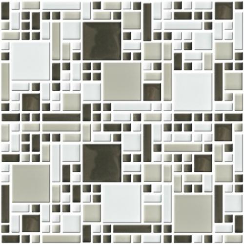 Настенная мозаика 8 mm, A-MGL08-XX-068