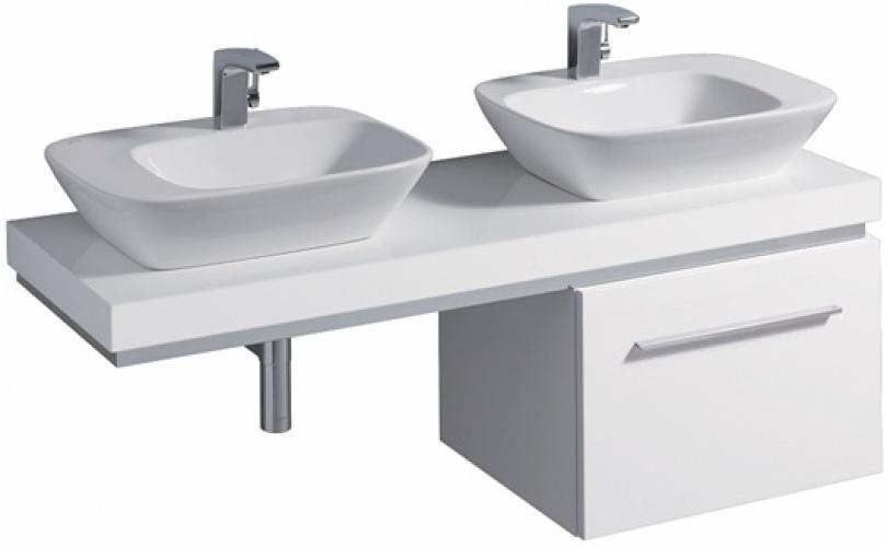 Мебельный умывальник без перелива (полочка слева) 570 х 427 мм