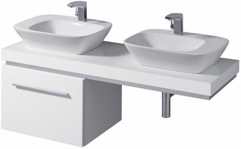 Мебельный умывальник без перелива (полочка справа) 570 х 427 мм