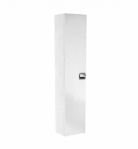 Шкафчик боковой высокий, белый глянец